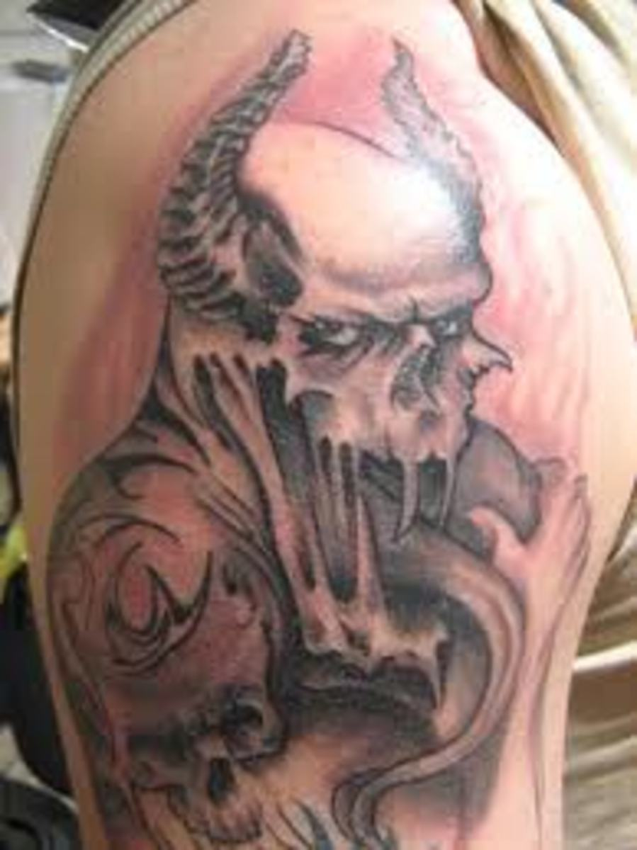 Gothic tattoos and meanings gothic tattoo ideas gothic for True culture tattoos