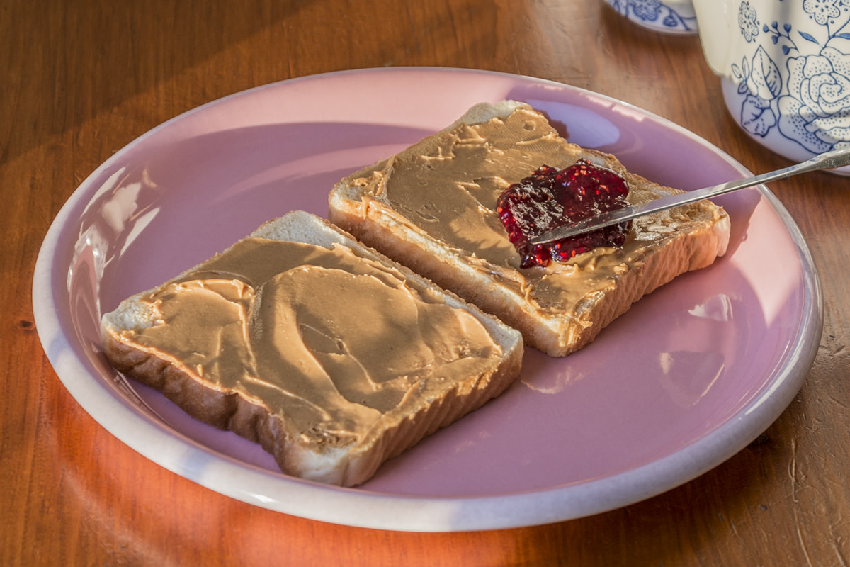 The Perfect PB&J Sandwich. No soggy bread here!