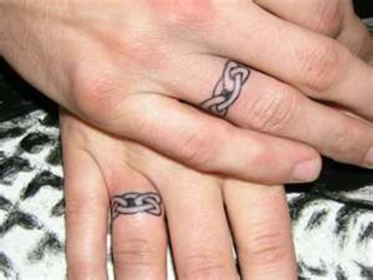 Infinity Ring Tattoos