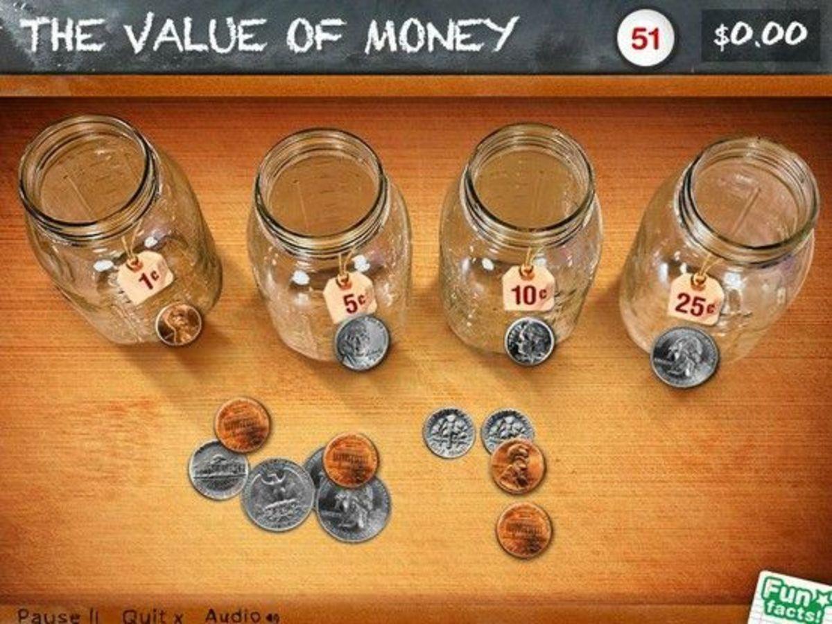 Peter Pig's Money Counter app