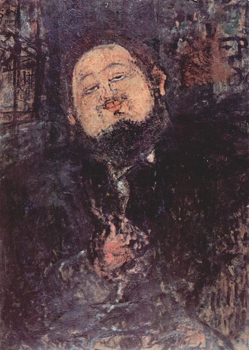 Portrait of Diego Rivera in 1914, by Amadeo Modigliani