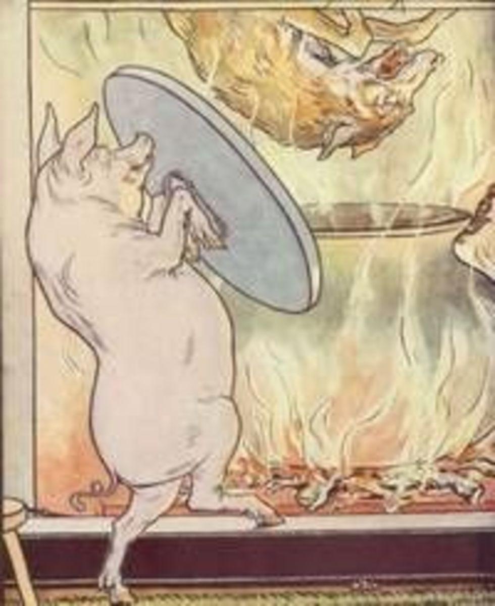 Three Little Pigs by Leonard Leslie Brooke