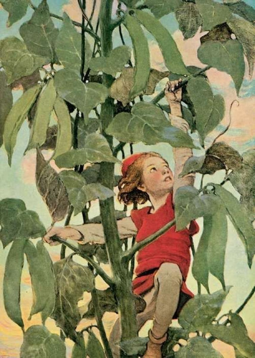 Jack and Beanstalk by Jessie Wilcox Smith