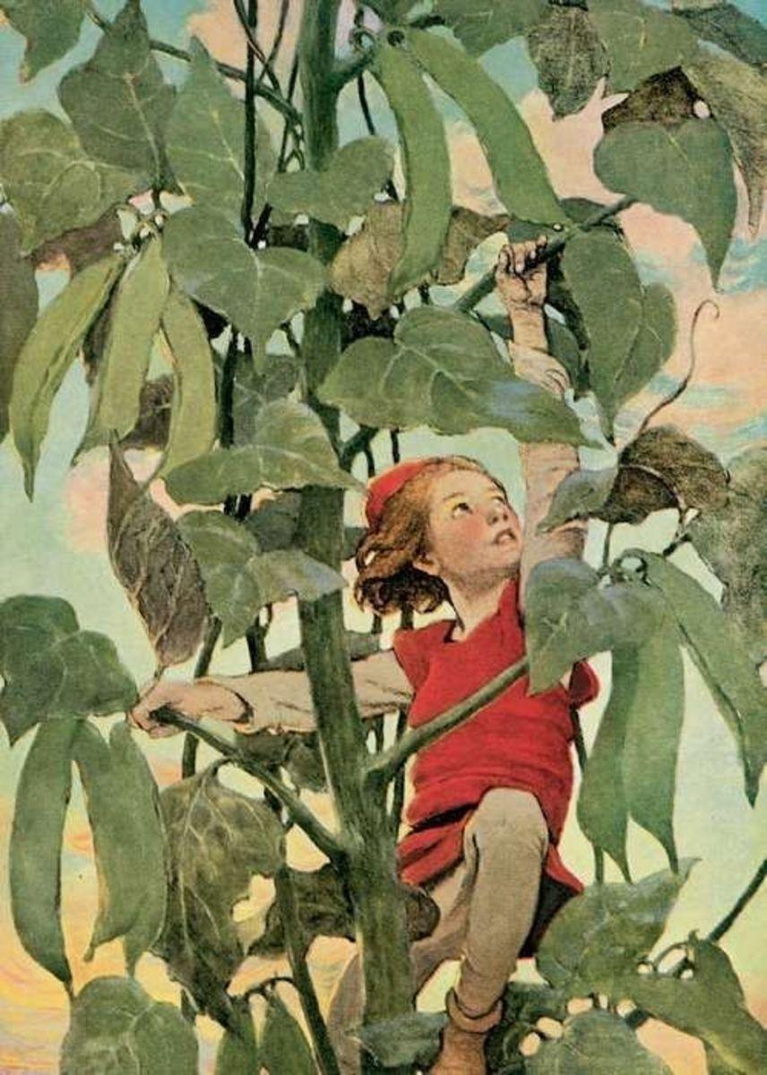 Jack and Beanstalk by Jessie Wilcox Smith