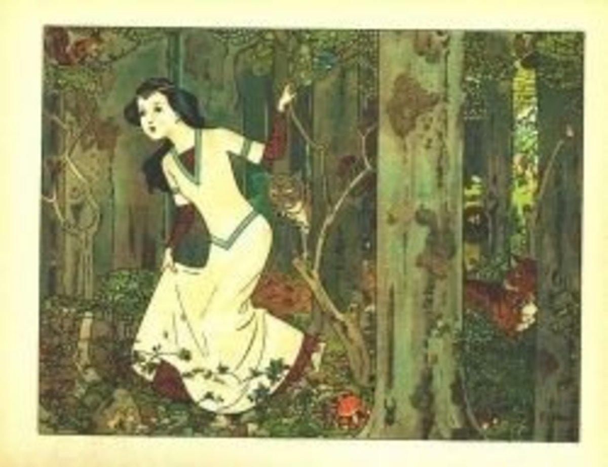 Snow White by Franz Juttner