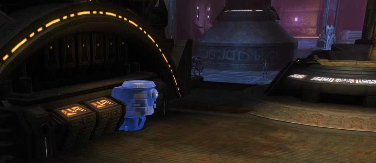SWTOR Use the Mother Machine