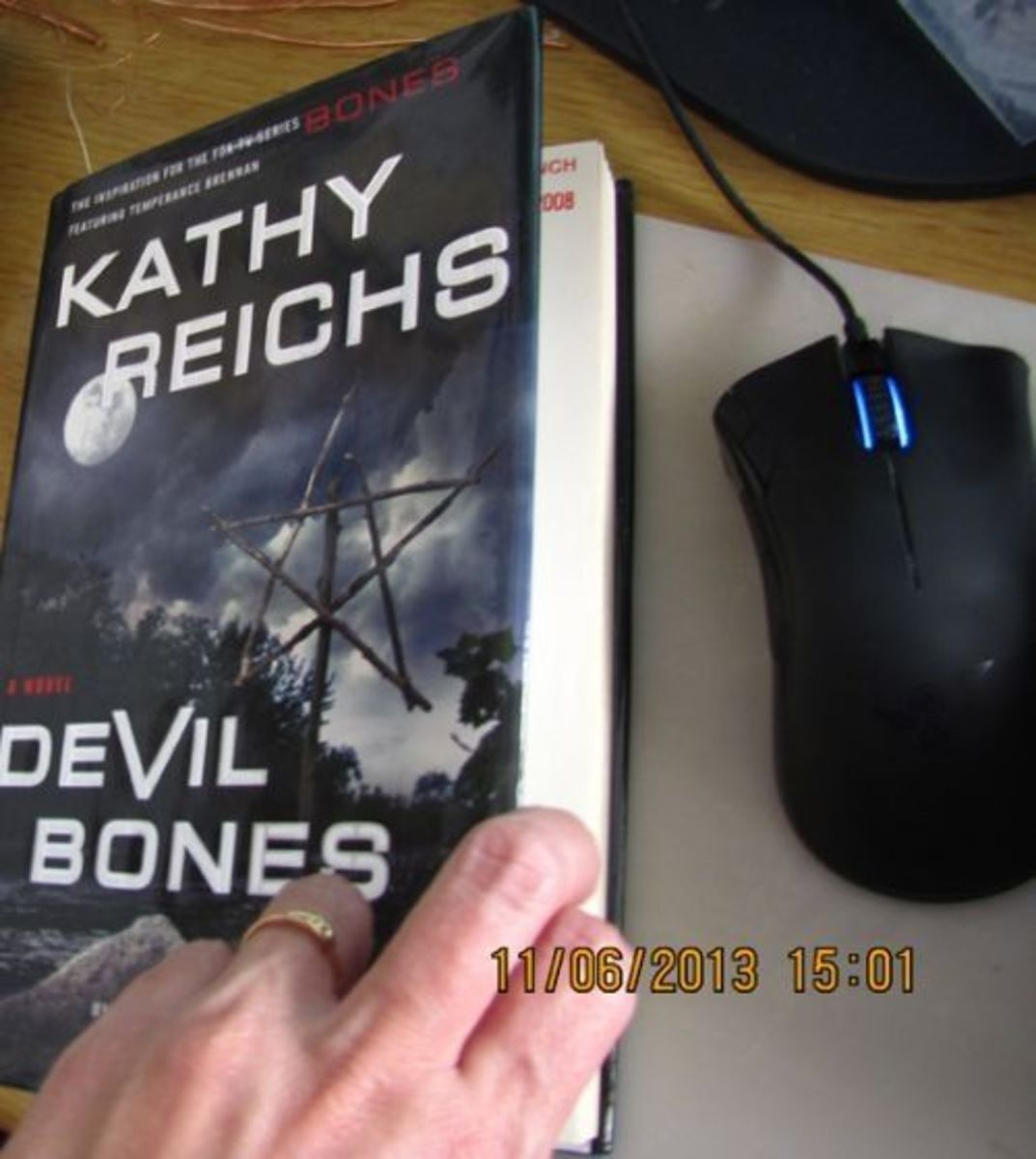 Devil Bones - my hardcover copy