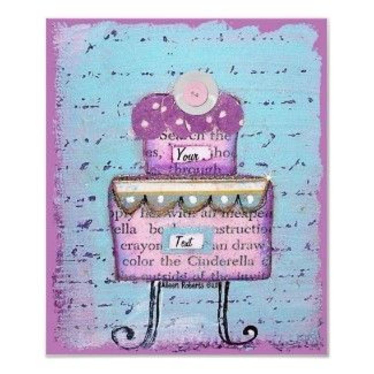 princess-cake-print