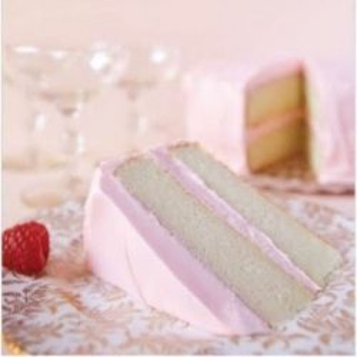 Spectacular Pink Champagne Cake Recipes