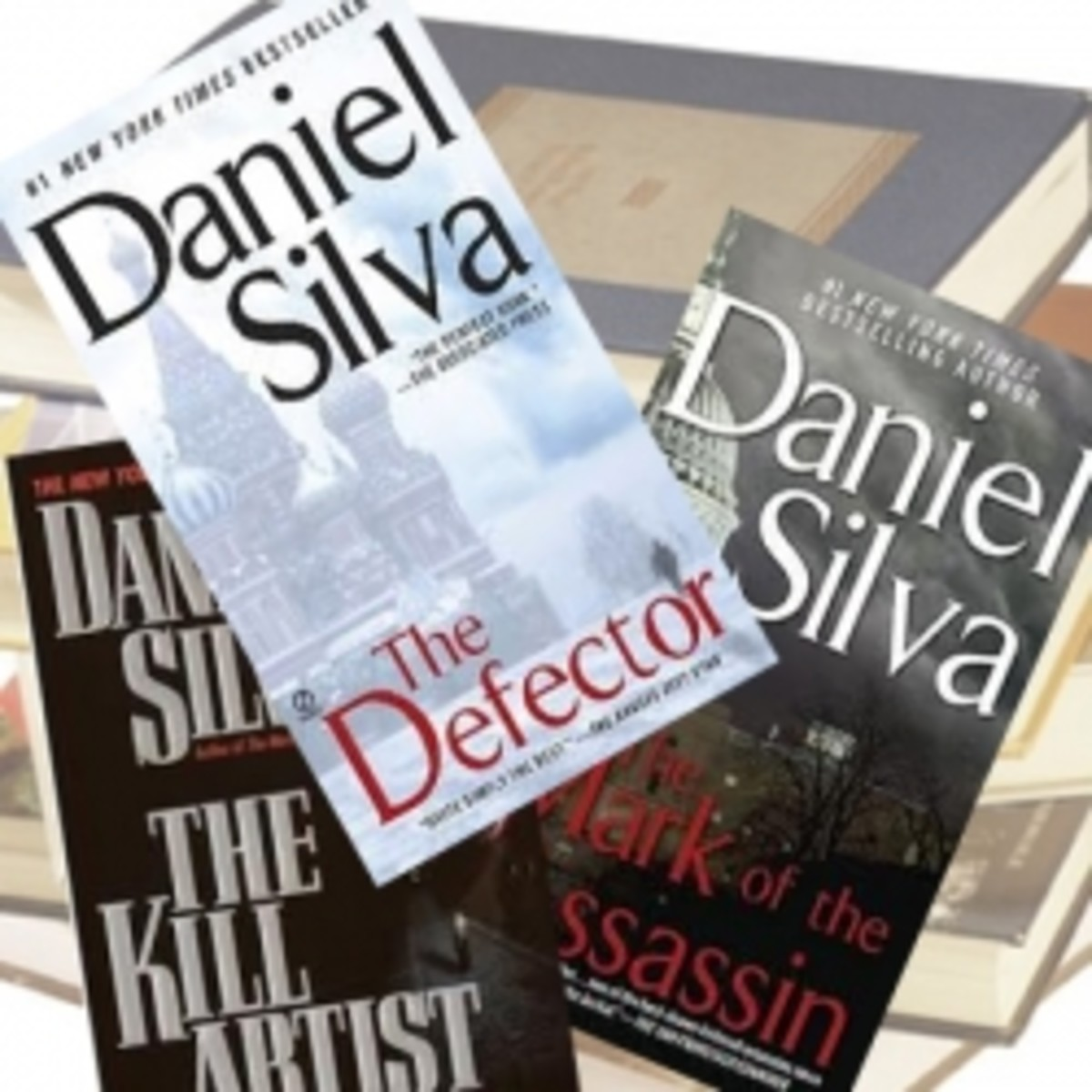 Daniel Silva Books In Order Of Publication