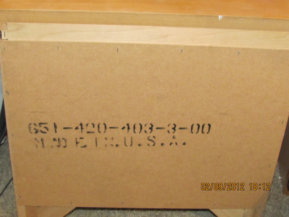 It's still possible to find furniture labeled Made in the USA!