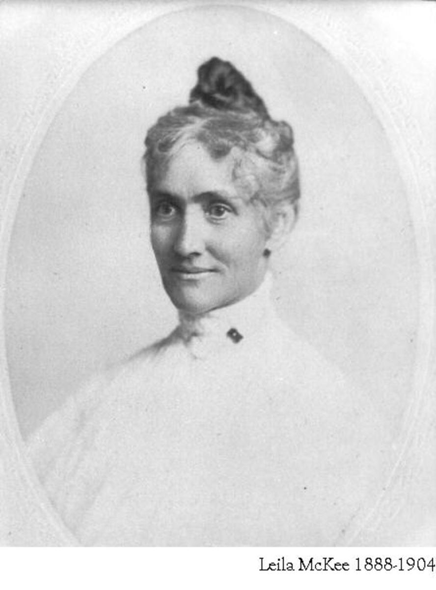 Fig. 2 Leila S. McKee (paternal grandmother to Leila Adele Welsh)