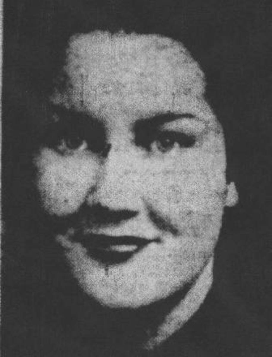 Fig. 3 Leila Adele Welsh was born in 1917.  She was murdered on March 9, 1941 at her home on Rockhill Road in Kansas City, Missouri.