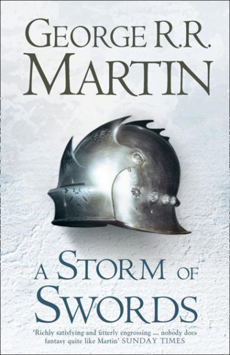 Book cover to A Storm of Swords