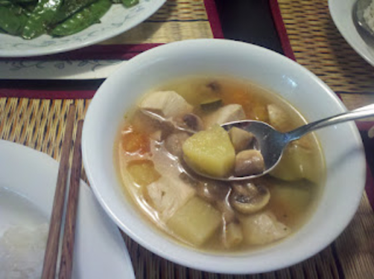Cambodian (Khmer) Sour Soup Recipe