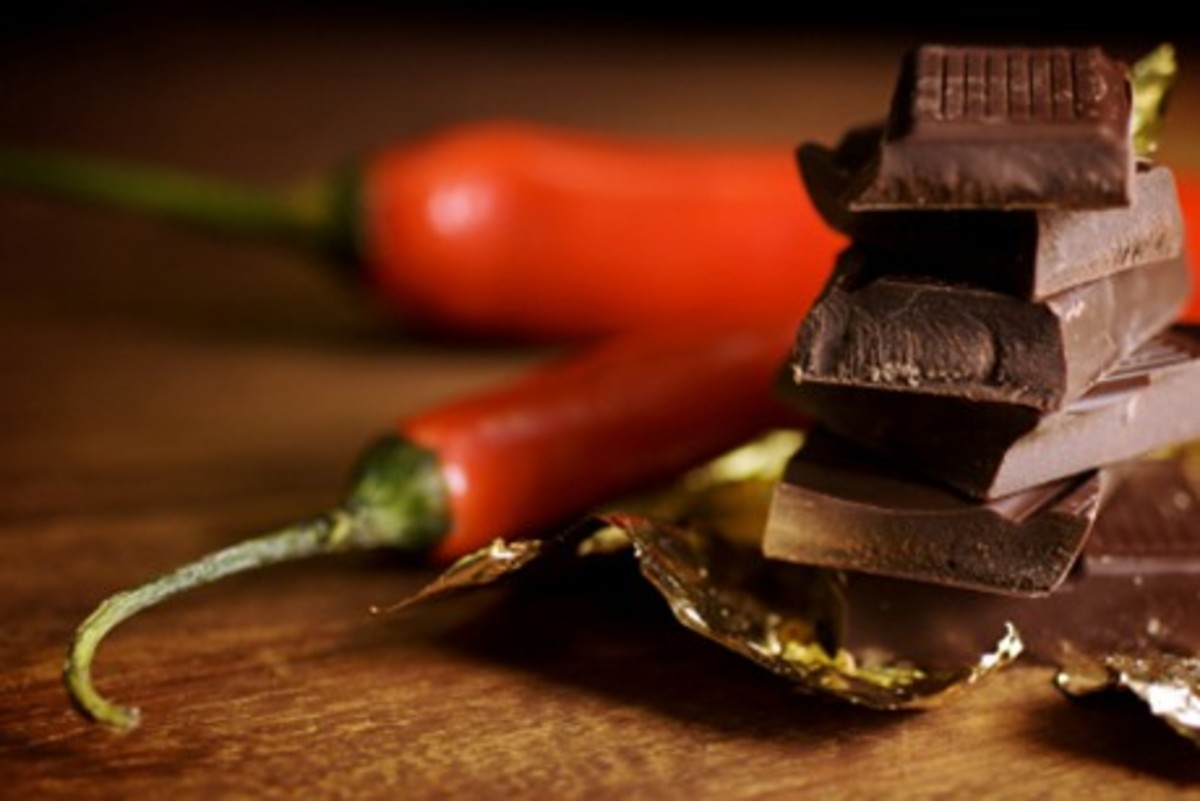 Chocolate and Chili Peppers Can Be Uplifting!