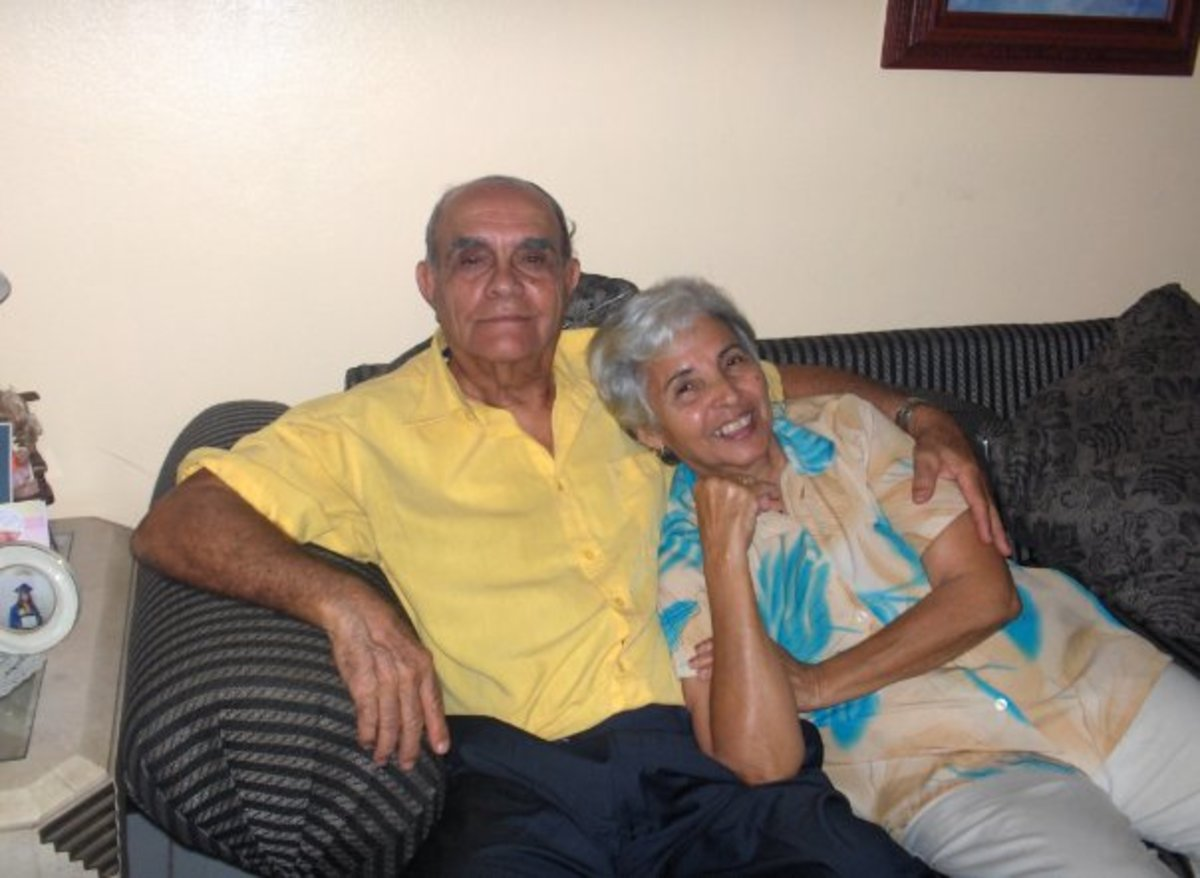 Married for 60 years. Quite a record!