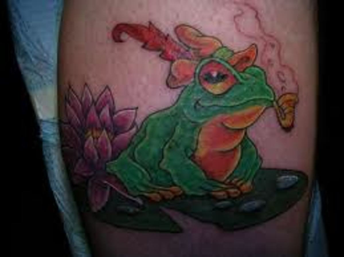 frog-tattoos-and-meanings