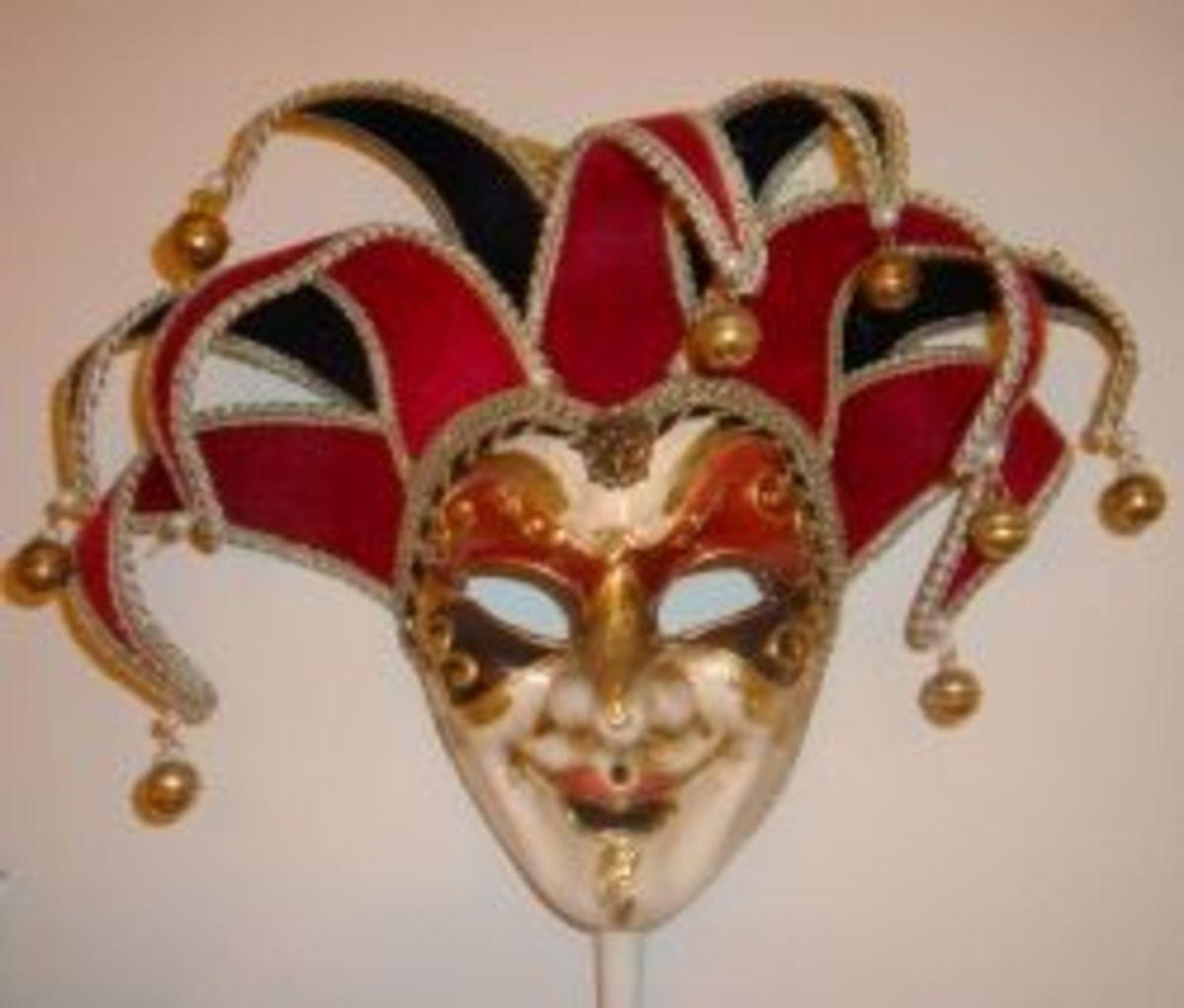 venetian-jester-masks