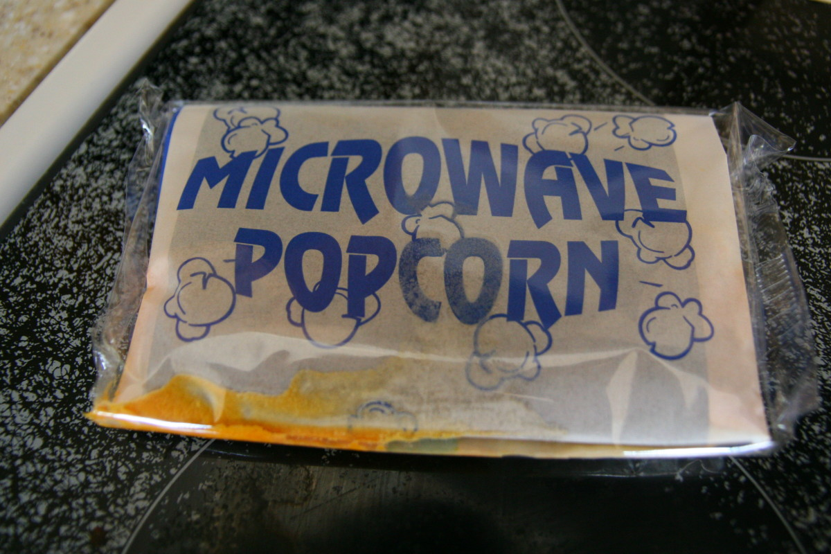 Microwave popcorn contains preservatives, in addition to chemicals for flavoring and color. Many brands of popcorn contain the chemical diacetyl, which can cause bronchiolitis obliterans, a devastating respiratory disease.