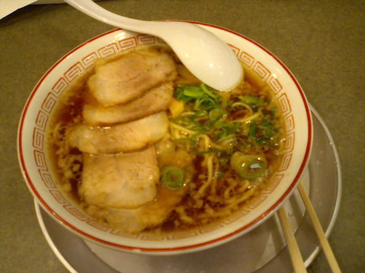 Vietnamese BBQ Pork Noodle Soup (Mi Xa Xiu)  Recipe