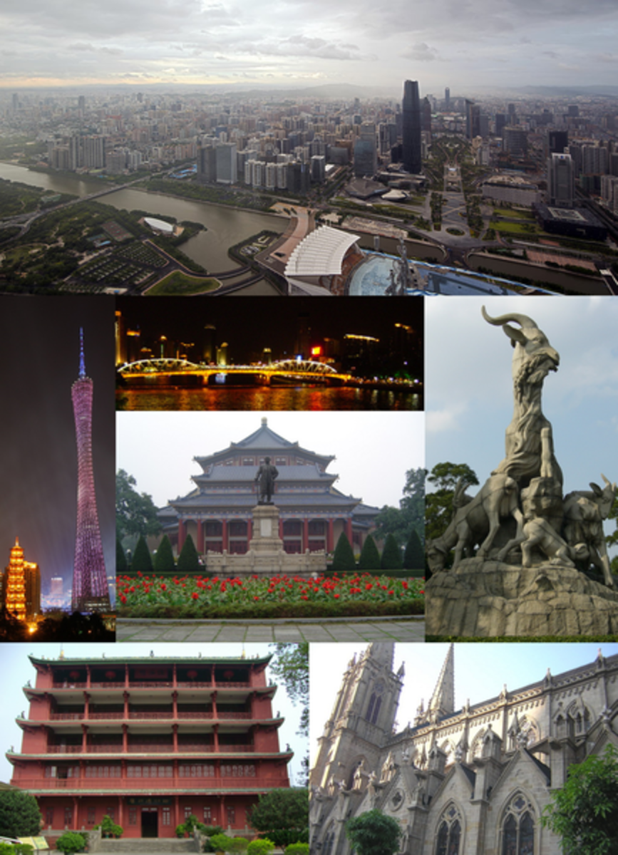 Guangzhou, China Montage