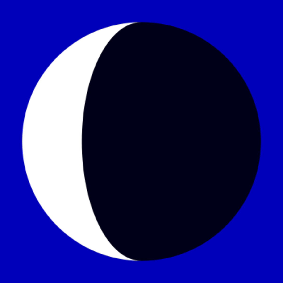 Born Under a Waning Crescent / Balsamic Moon