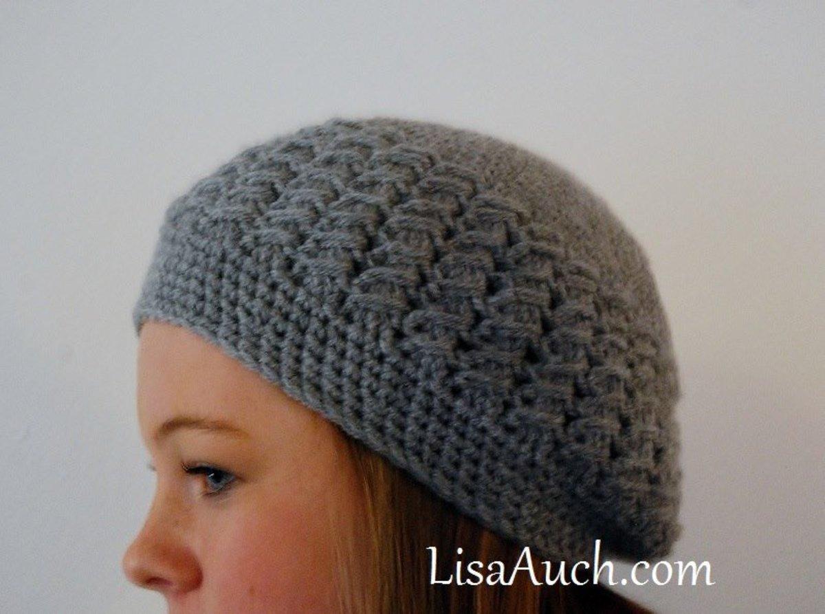 free womans crochet hat pattern