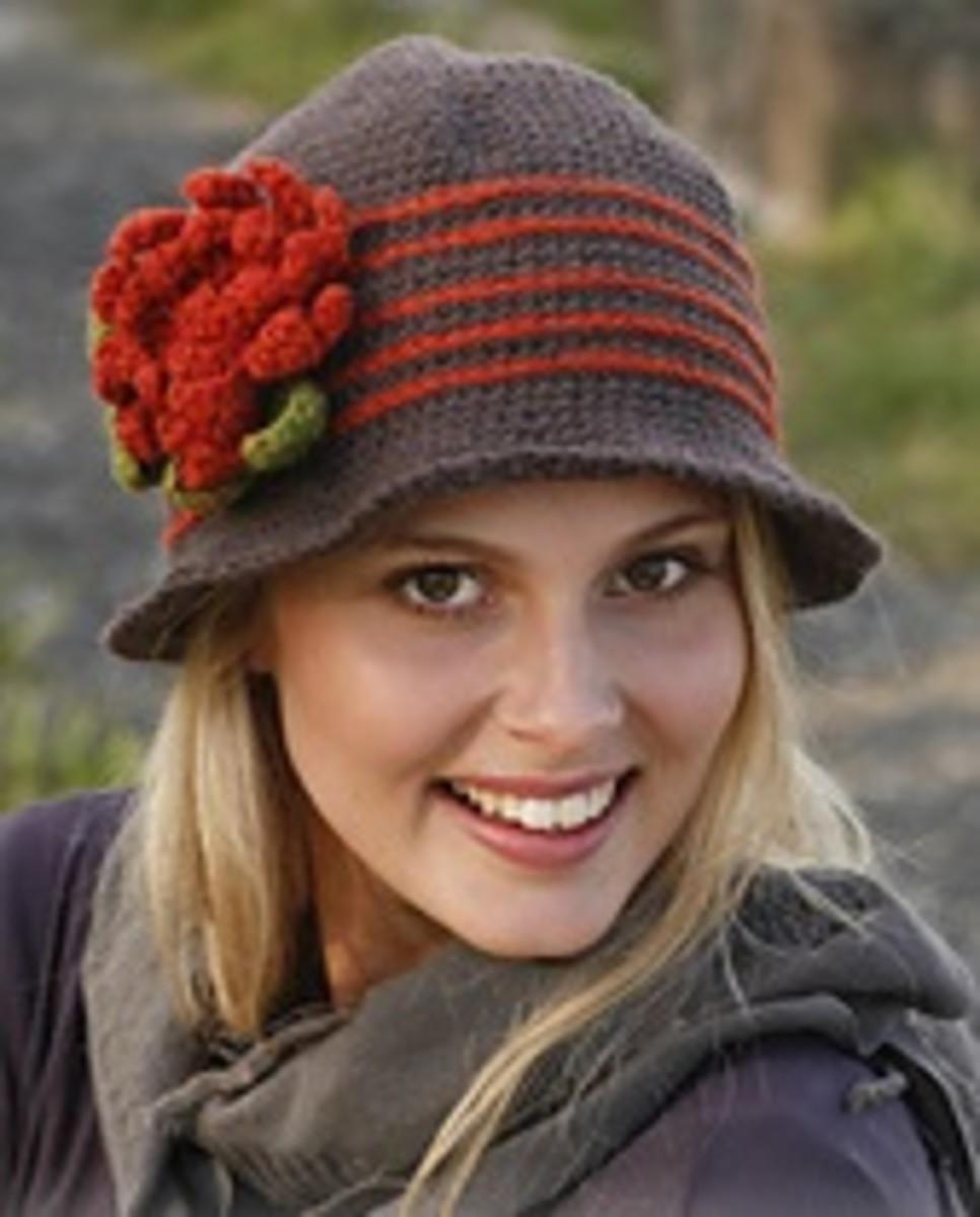 Womans Crochet Hat Patten