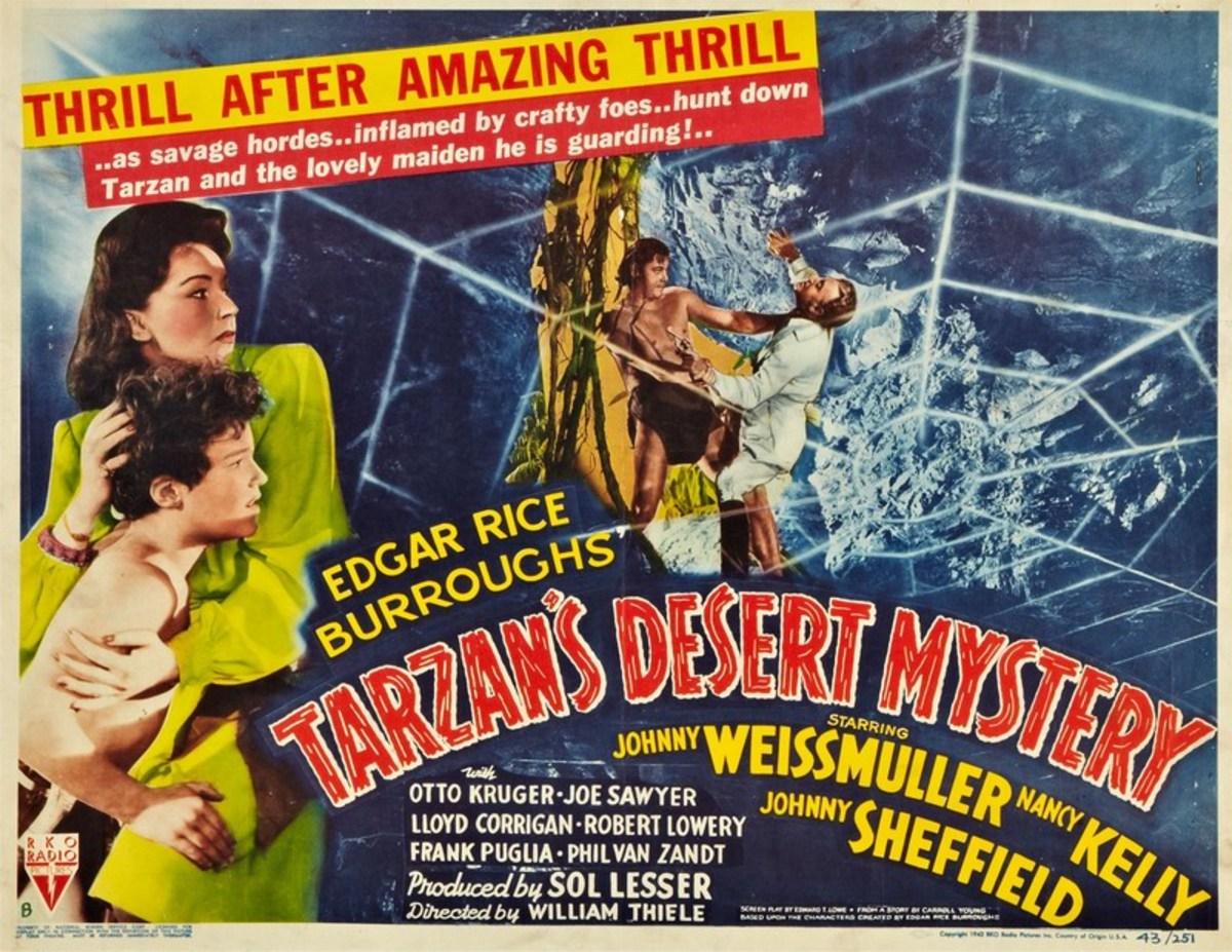 Tarzans Desert Mystery - poster