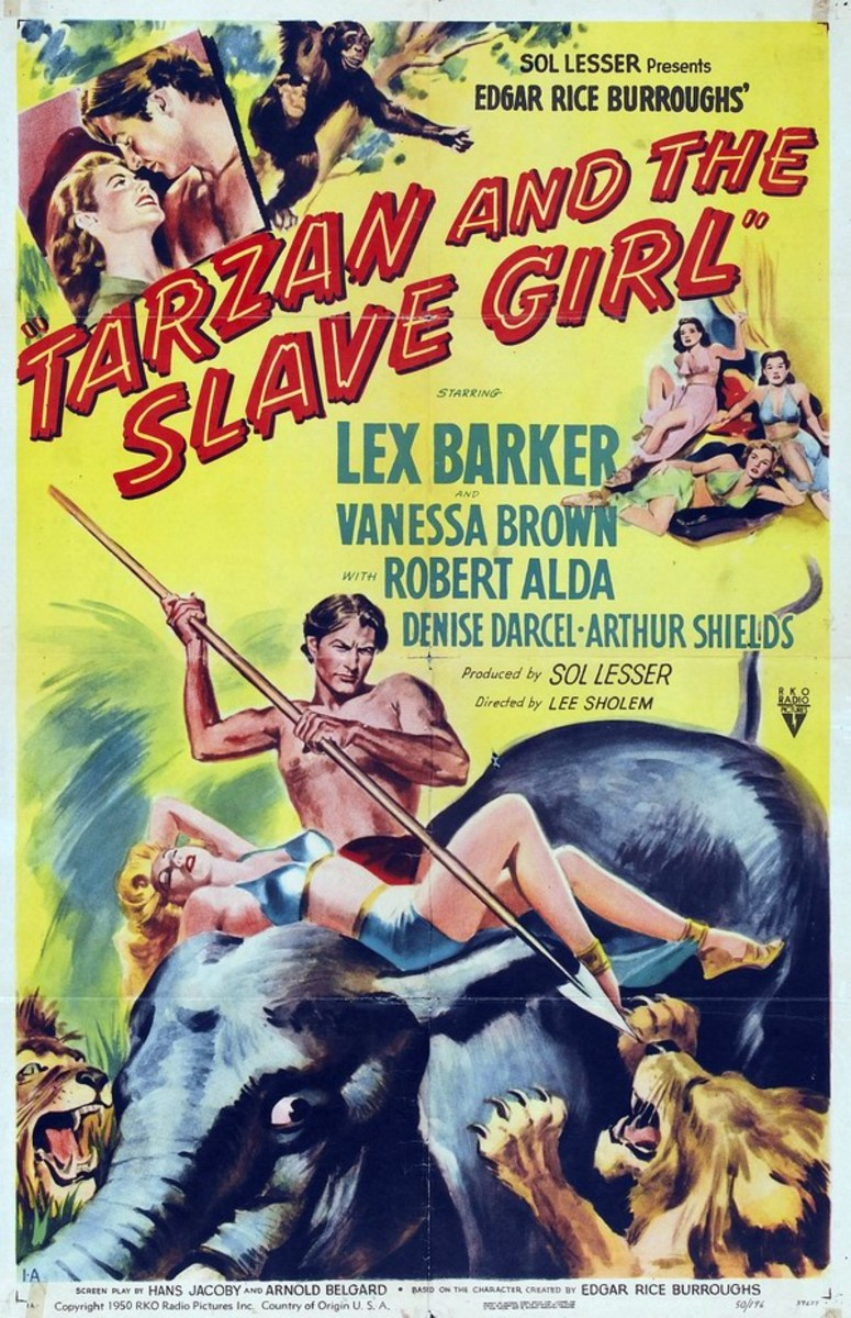 Tarzan and the Slave Girl - poster