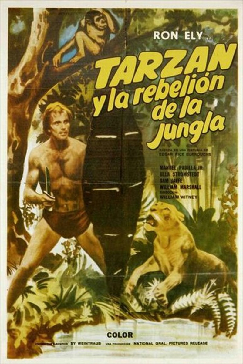 Tarzan's Jungle Rebellion - poster