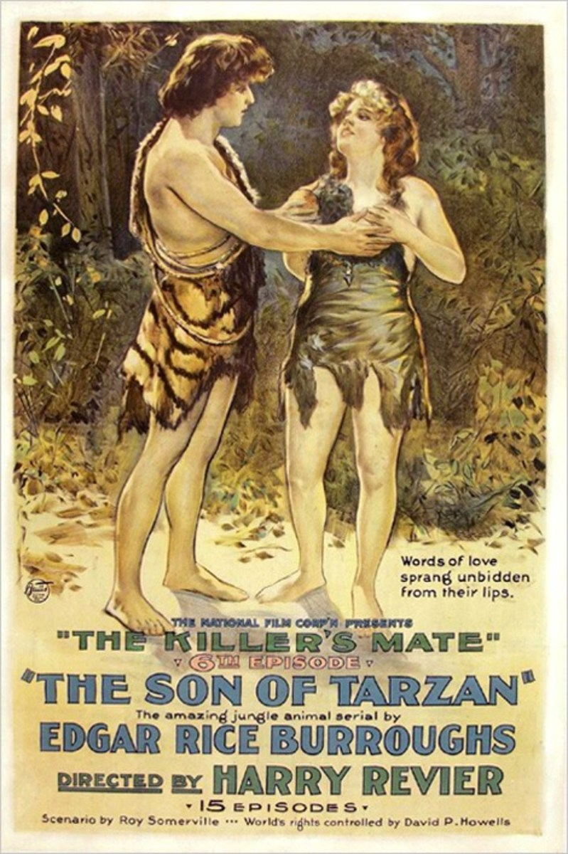 The Son of Tarzan - poster