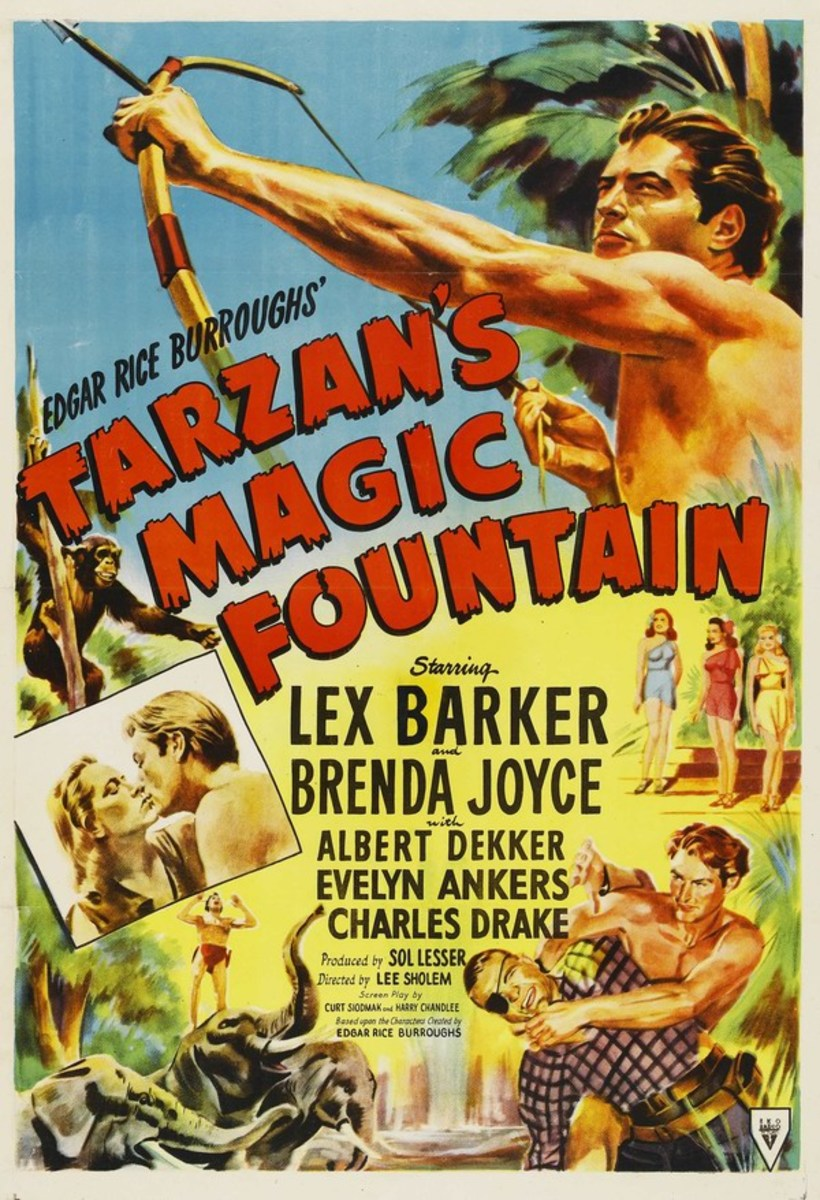 Tarzan's Magic Fountain - poster