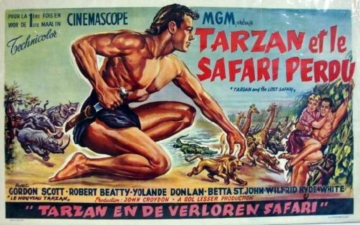 Tarzan and the Lost Safari - poster