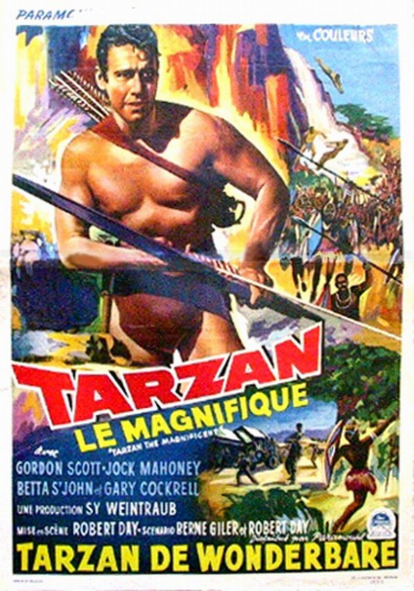 Tarzan the Magnificent - poster