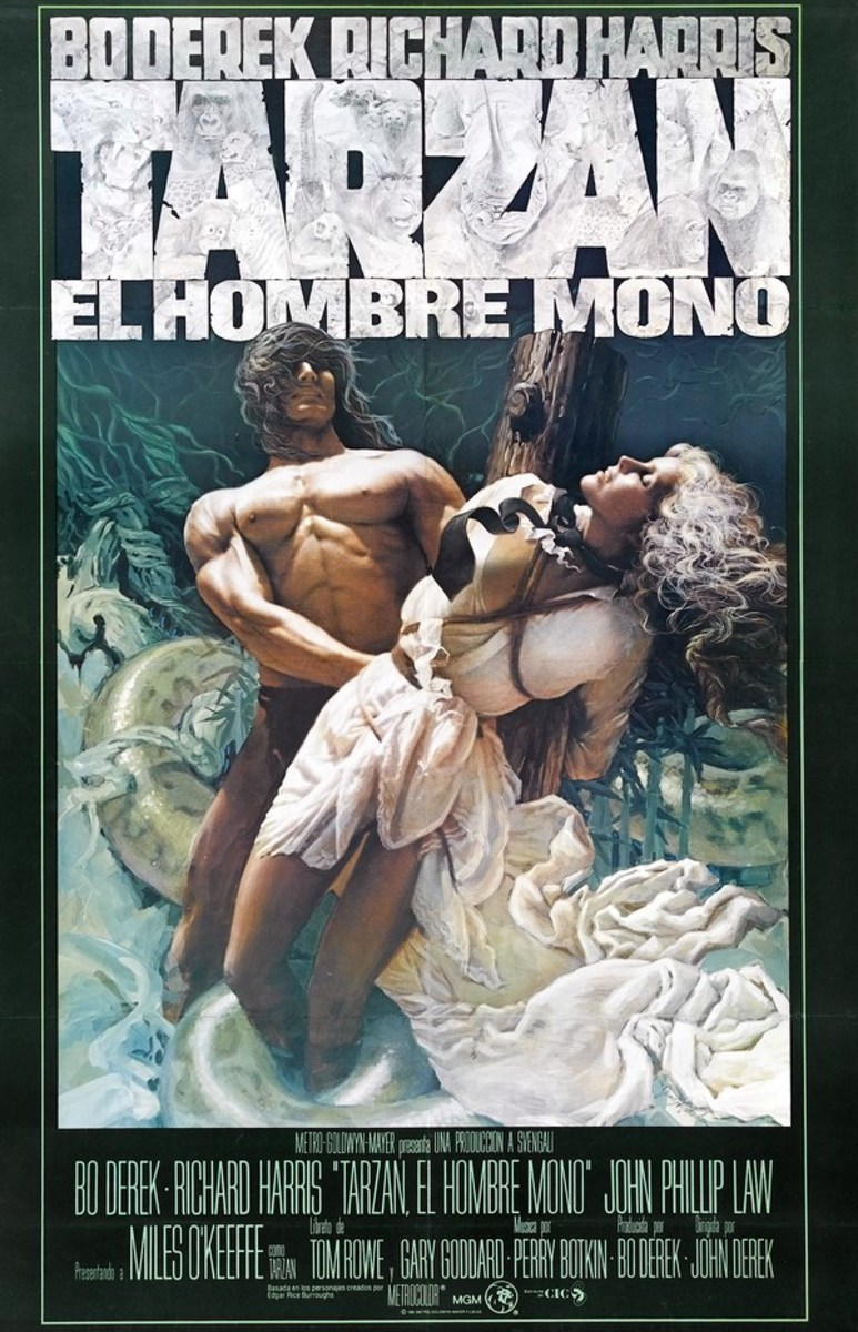Tarzan the Ape Man (1981) poster