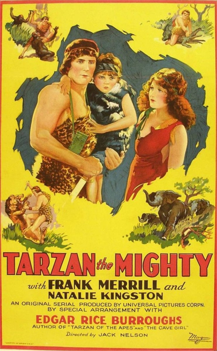 Tarzan the Mighty - poster