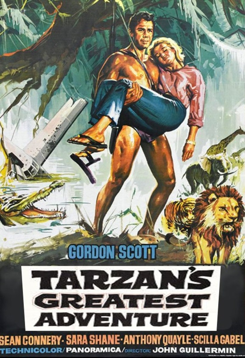 Tarzan's Greatest Adventure - poster