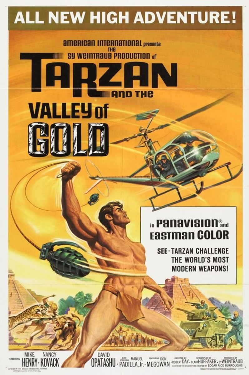 Tarzan and the Valley of Gold - poster