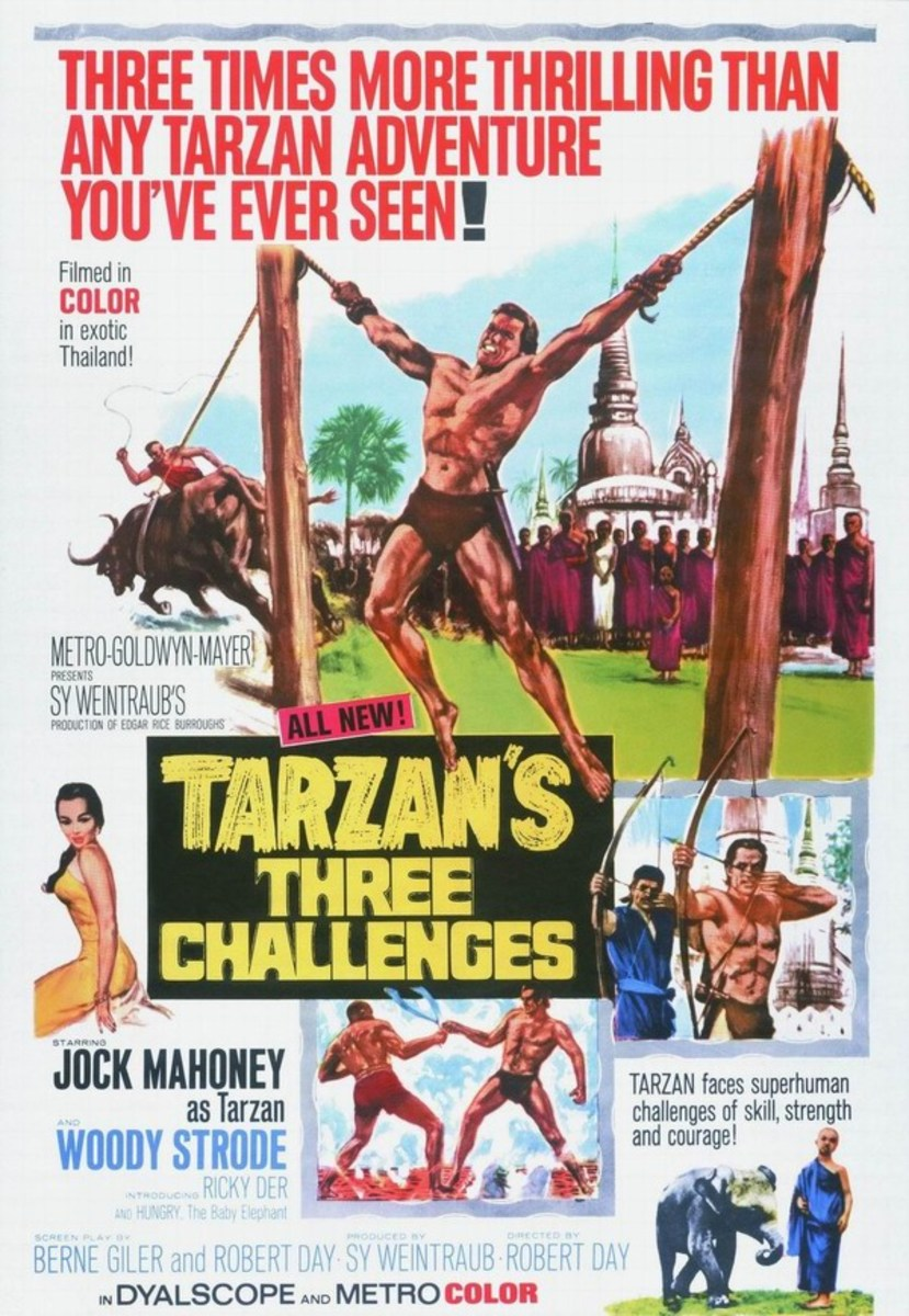 Tarzan's Three Challenges - poster