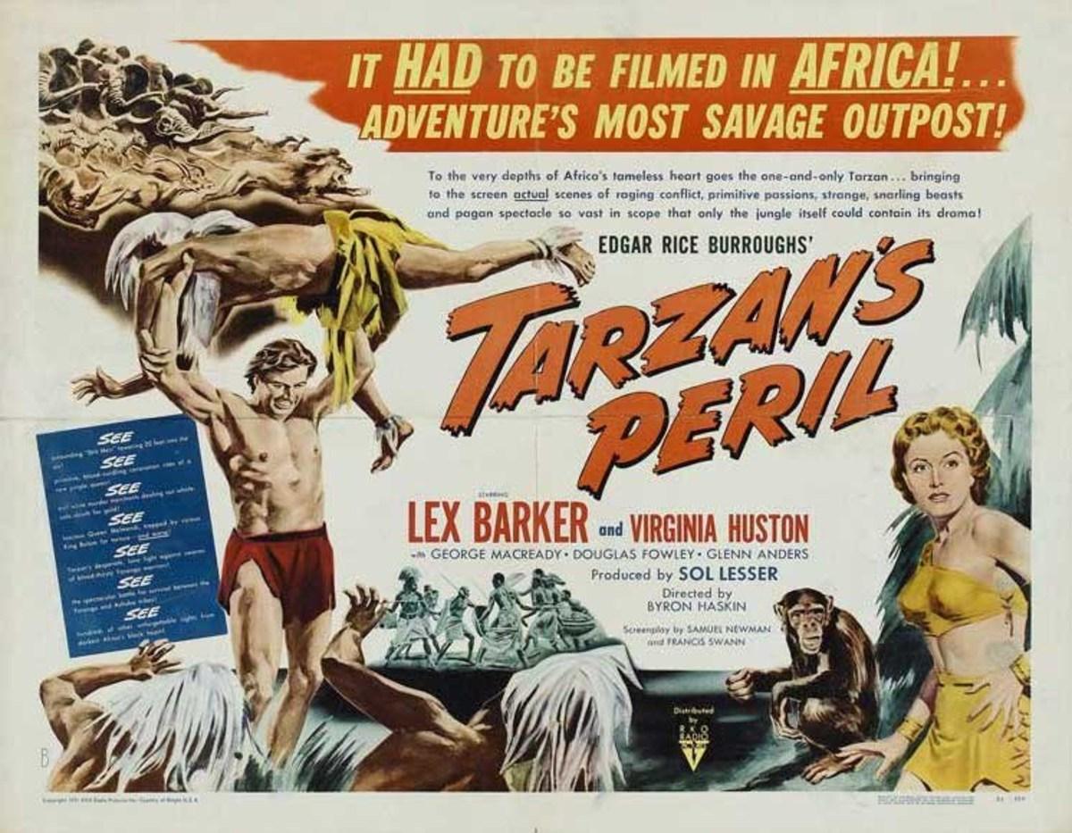 Tarzan's Peril - poster