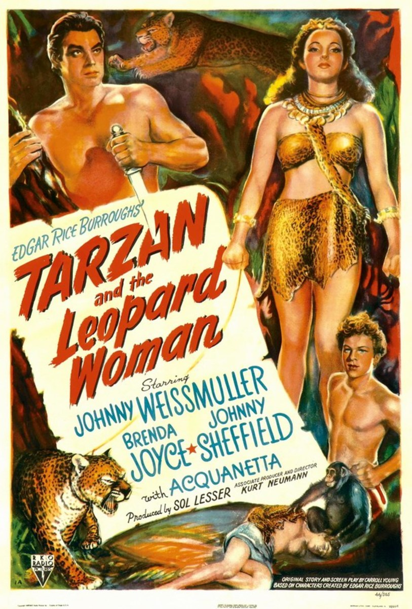 Tarzan and the Leopard Woman - poster