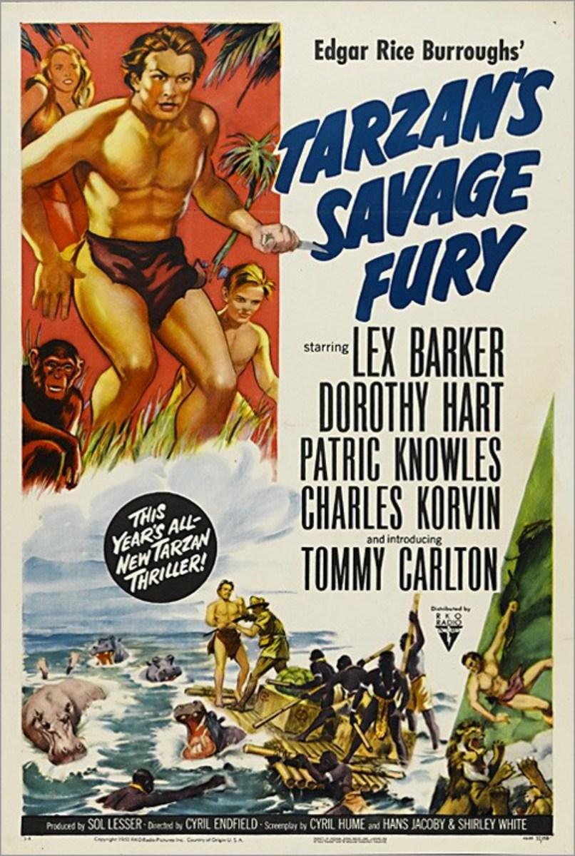Tarzan's Savage Fury - poster