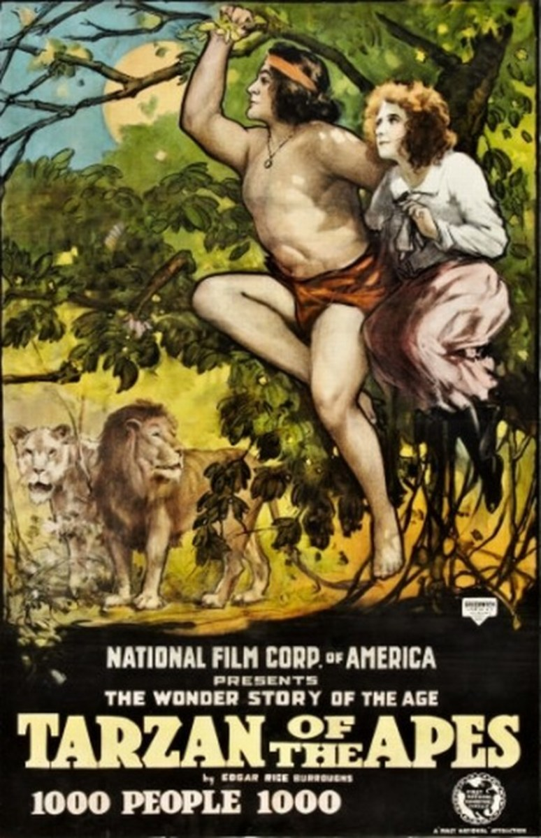 Tarzan of the Apes 1918 poster