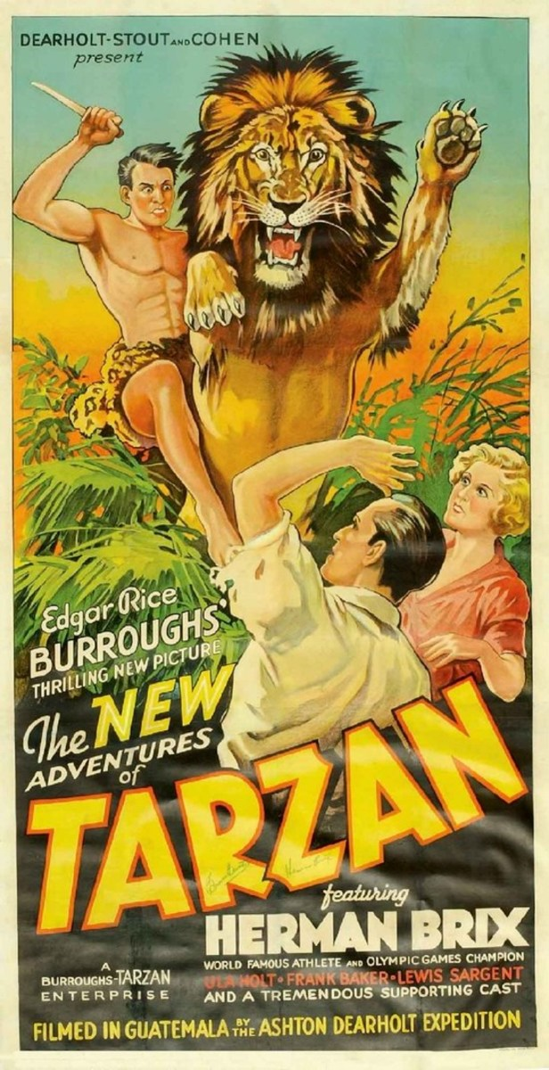 New Adventures of Tarzan - poster