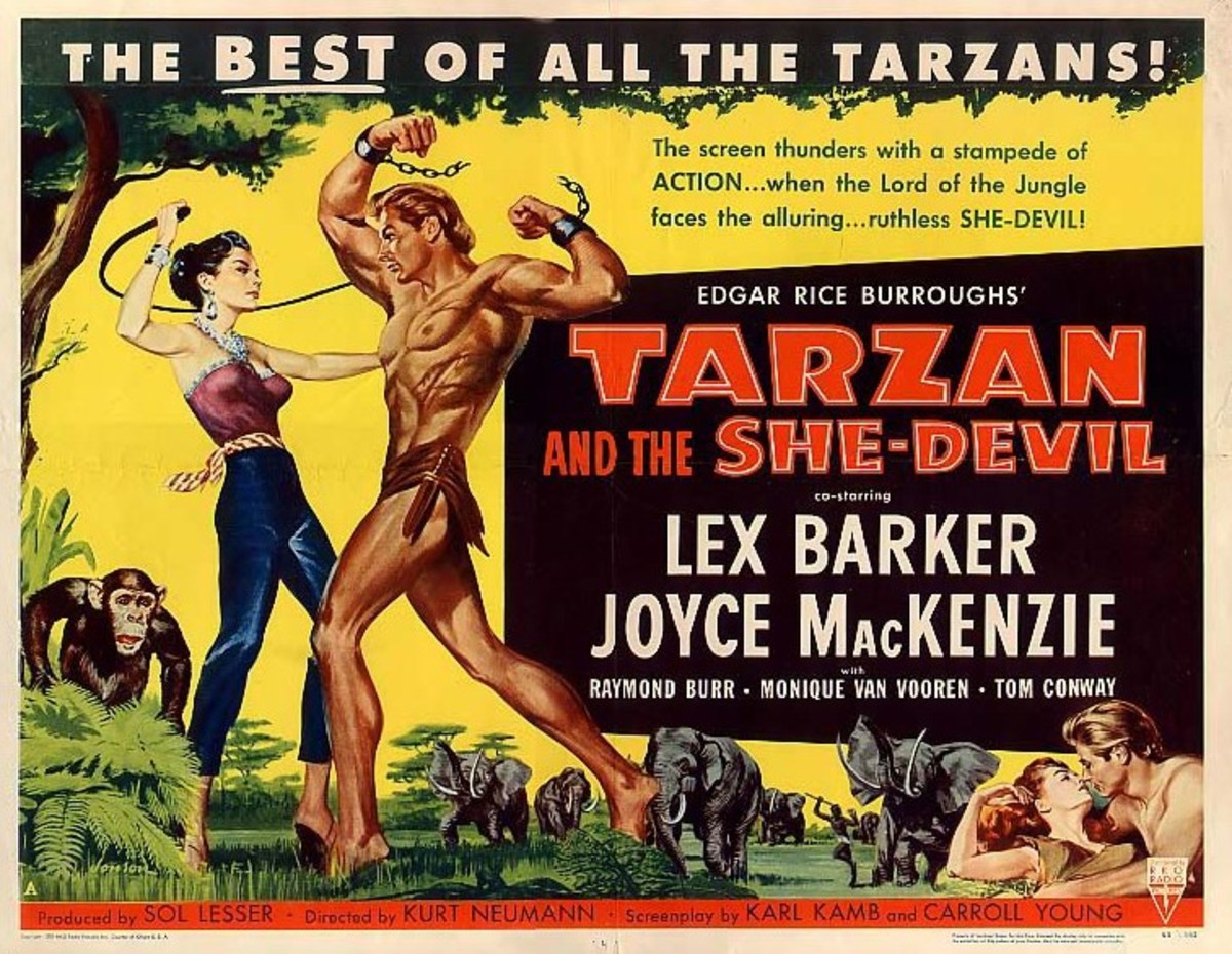 Tarzan and the She Devil - poster
