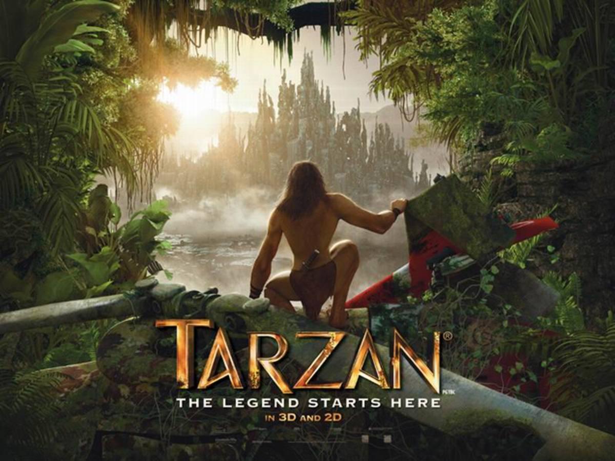 Tarzan (2013) poster