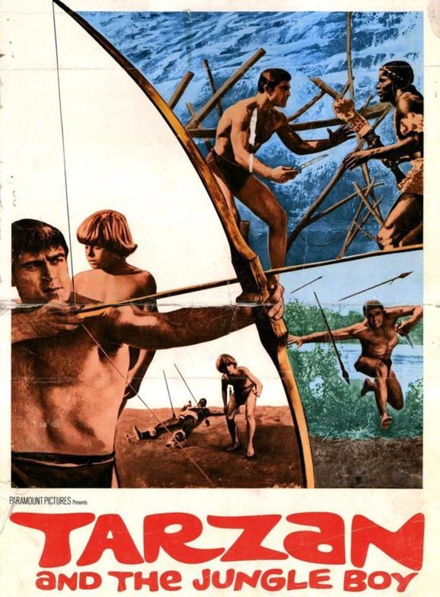 Tarzan and the Jungle Boy - poster