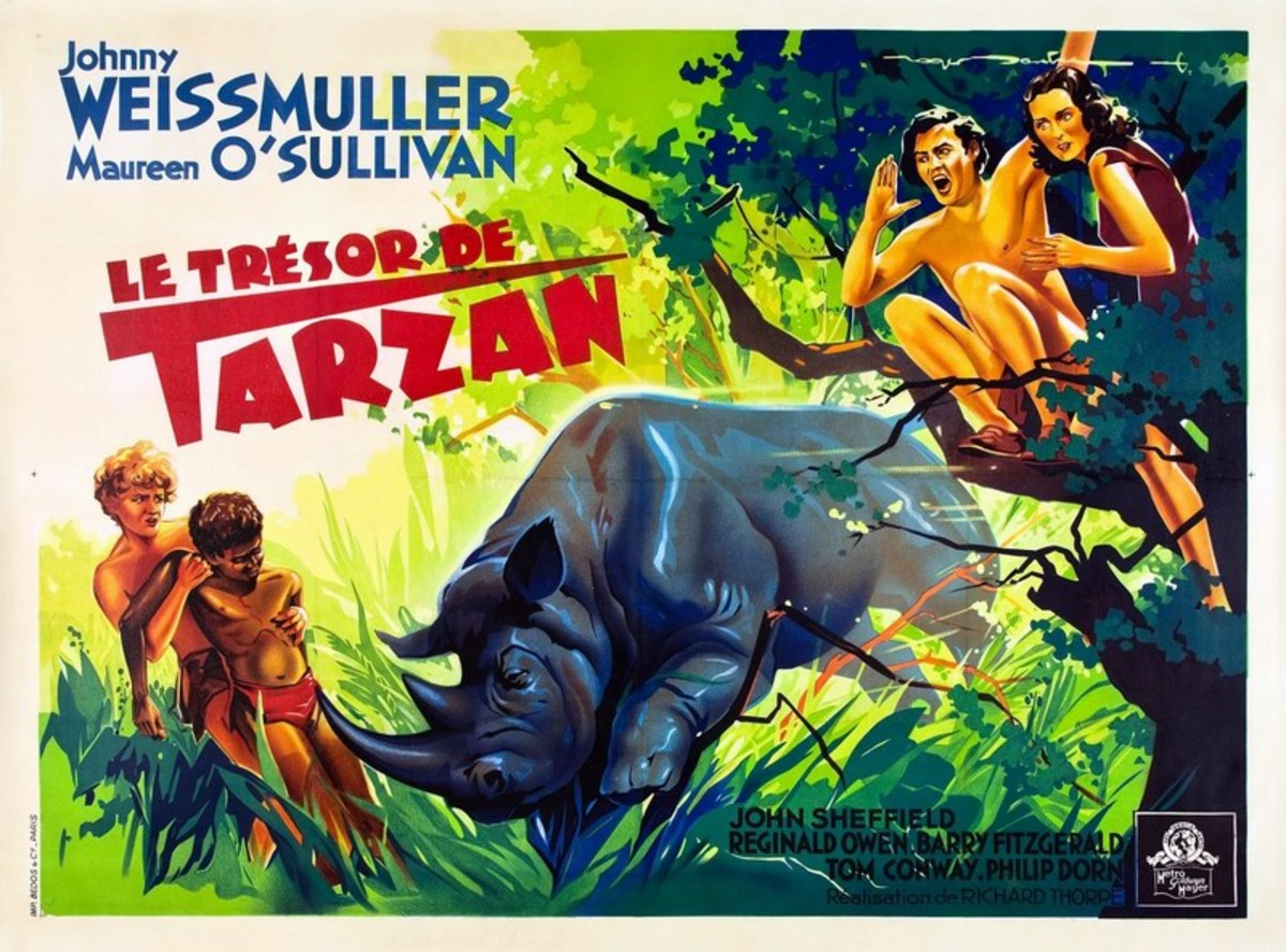 Tarzan's Secret Treasure - poster